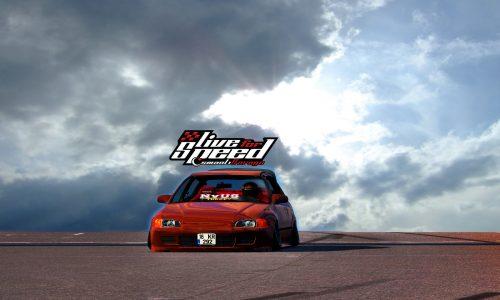 LFS Honda Civic EG6