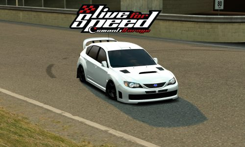 LFS RB4 Subaru Impreza STI WRX