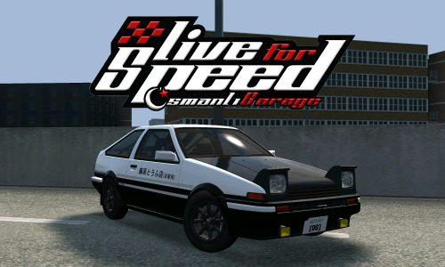LFS Toyota AE86 Trueno
