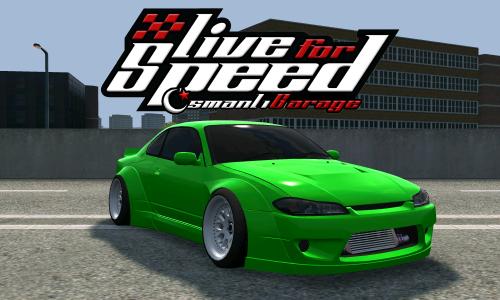 LFS Nissan Silvia S15 RocketBunny
