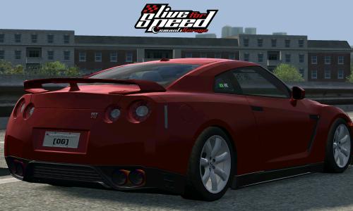 LFS NISSAN GT-R R35