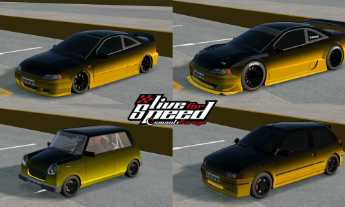 LFS Gerçek Araba Skinleri V1