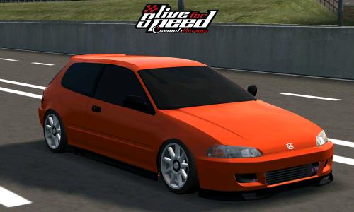LFS FX Honda Civic