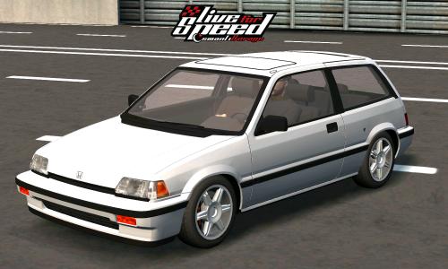 LFS XF Honda Civic si EF