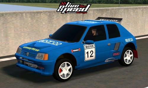 LFS XF – Peugeot 205 T16