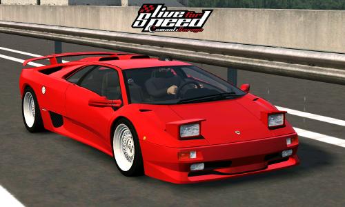 LFS Lamborghini Diablo SV