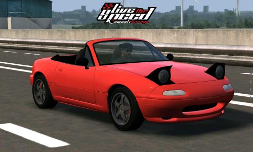 LFS Mazda Miata MX5 (NA)