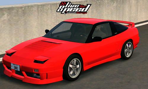 LFS Nissan 180SX Type-X