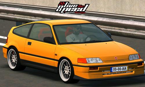 LFS Honda CRX Kpro